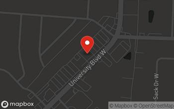 Map of 5927 University Blvd. in Jacksonville