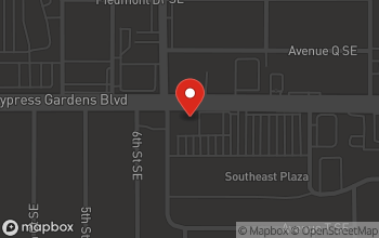 Map of 604 Cypress Gardens Blvd in Winter Haven
