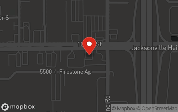 Map of 7214 103rd St. in Jacksonville