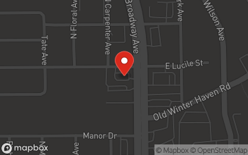 Map of 1595 N. Broadway Ave in Bartow