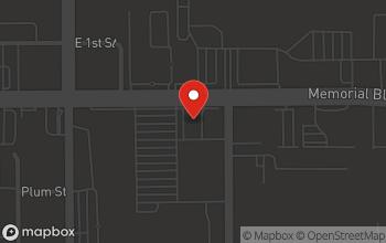 Map of 991 E. Memorial Blvd. in Lakeland