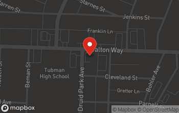 Map of 1720 Walton Way in Augusta