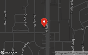 Map of 8800 N 56th Street in Temple Terrace