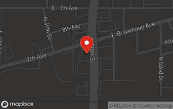 Map of 4959 E. Broadway in Tampa