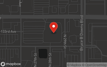 Map of 2701 E. Fletcher Ave. in Tampa
