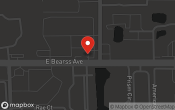Map of 2598 Bearss Avenue East in Tampa