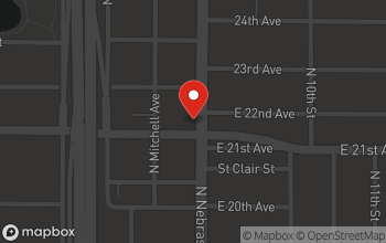 Map of 3002 N. Nebraska Ave in Tampa