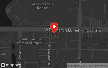 Map of 2820 W Dr Martin Luther King Jr Blvd in Tampa