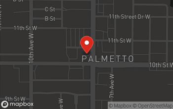 Map of 1001 8th Ave W in Palmetto