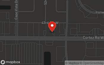 Map of 5140 Cortez Road W in Bradenton