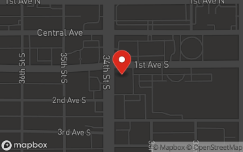 Map of 100 34th Street S. in St. Petersburg