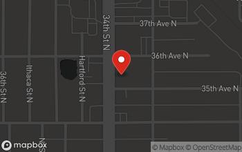 Map of 3501 34th Street N in St. Petersburg