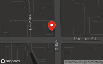 Map of 4909 Ulmerton Rd in Clearwater