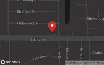 Map of 3150 East Bay Drive in Clearwater
