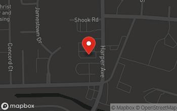 Map of 35101 Harper Avenue in Clinton Township