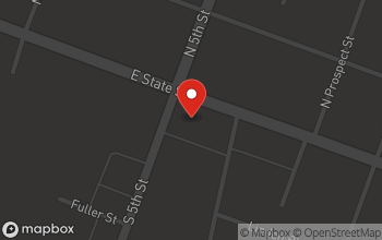 Map of 609 E. State in Fremont
