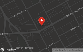 Map of 6060 West Vernor Hwy in Detroit