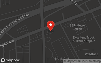Map of 9515 Michigan Ave. in Detroit