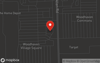 Map of 24300 Allen Rd in Woodhaven