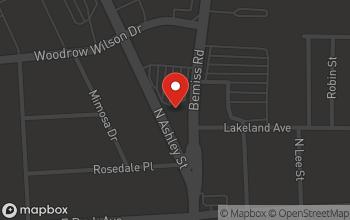 Map of 2129 N. Ashley Street in Valdosta