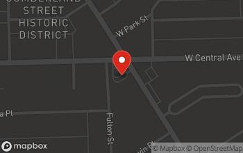 Map of 3033 Cherry Street in Toledo