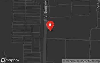 Map of 2790 Pio Nono Avenue in Macon