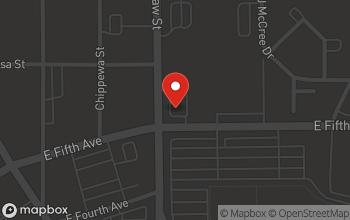 Map of 855 E. Fifth Avenue in Flint