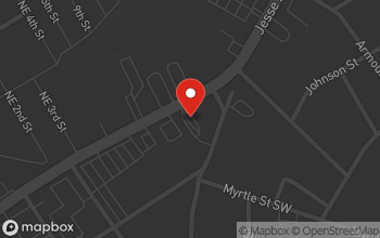 Map of 943 Jesse Jewell Pkwy in Gainesville