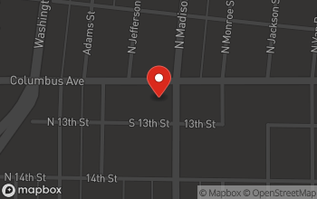 Map of 102 S. Madison in Bay City