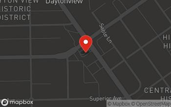Map of 438 Salem Avenue in Dayton