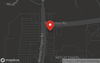 Map of 2388 Wesley Chapel Road in Decatur