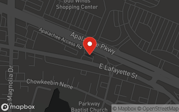 Map of 1377 Apalachee Parkway in Tallahassee