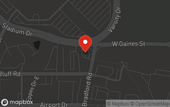 Map of 802 Lake Bradford Rd in Tallahassee