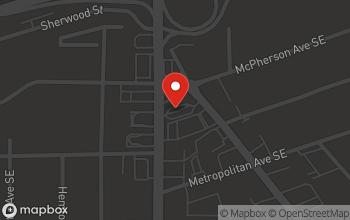 Map of 420 Moreland Ave SE in Atlanta