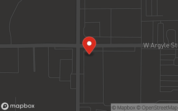 Map of 1095 North Wisner St in Jackson