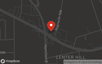 Map of 2641 Donald Lee Hollowell Pkwy NW in Atlanta