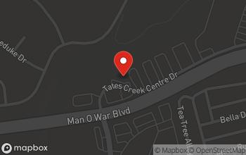 Map of 4171 Tates Creek Centre Dr in Lexington