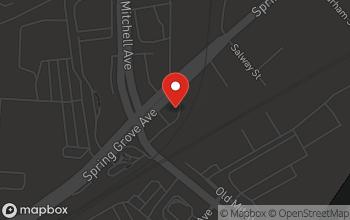 Map of 4810 Spring Grove Avenue in Cincinnati