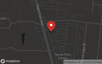Map of 10946 Hamilton Avenue in Cincinnati