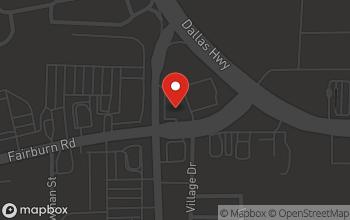 Map of 6033 Fairburn Rd in Douglasville