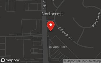 Map of 4810 Coldwater Road in Fort Wayne
