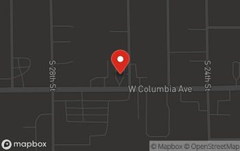 Map of 1600 W Columbia Ave in Battle Creek
