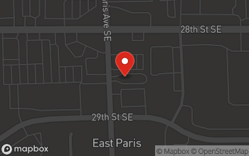 Map of 2860 E Paris Ave SE in Kentwood