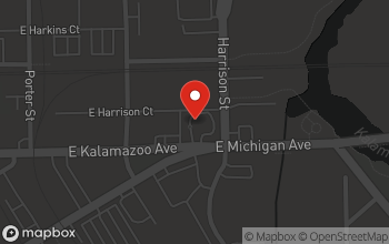 Map of 575 E. Michigan Ave. in Kalamazoo