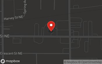 Map of 1131 Michigan Street in Grand Rapids