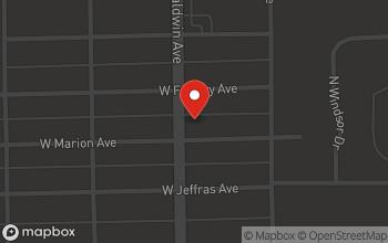 Map of 602 Baldwin Avenue in Marion