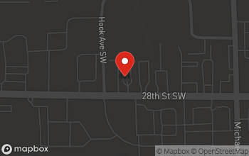 Map of 1325 28th St. SW in Wyoming