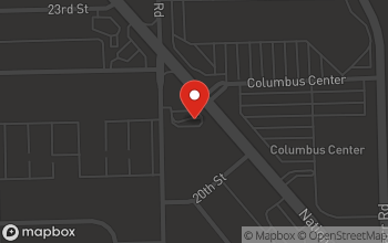 Map of 2080 North National Road in Columbus