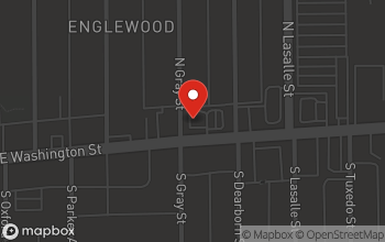 Map of 3102 E. Washington Street in Indianapolis
