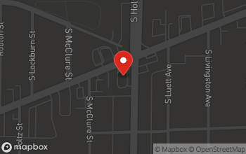 Map of 3807 W. Washington St. in Indianapolis